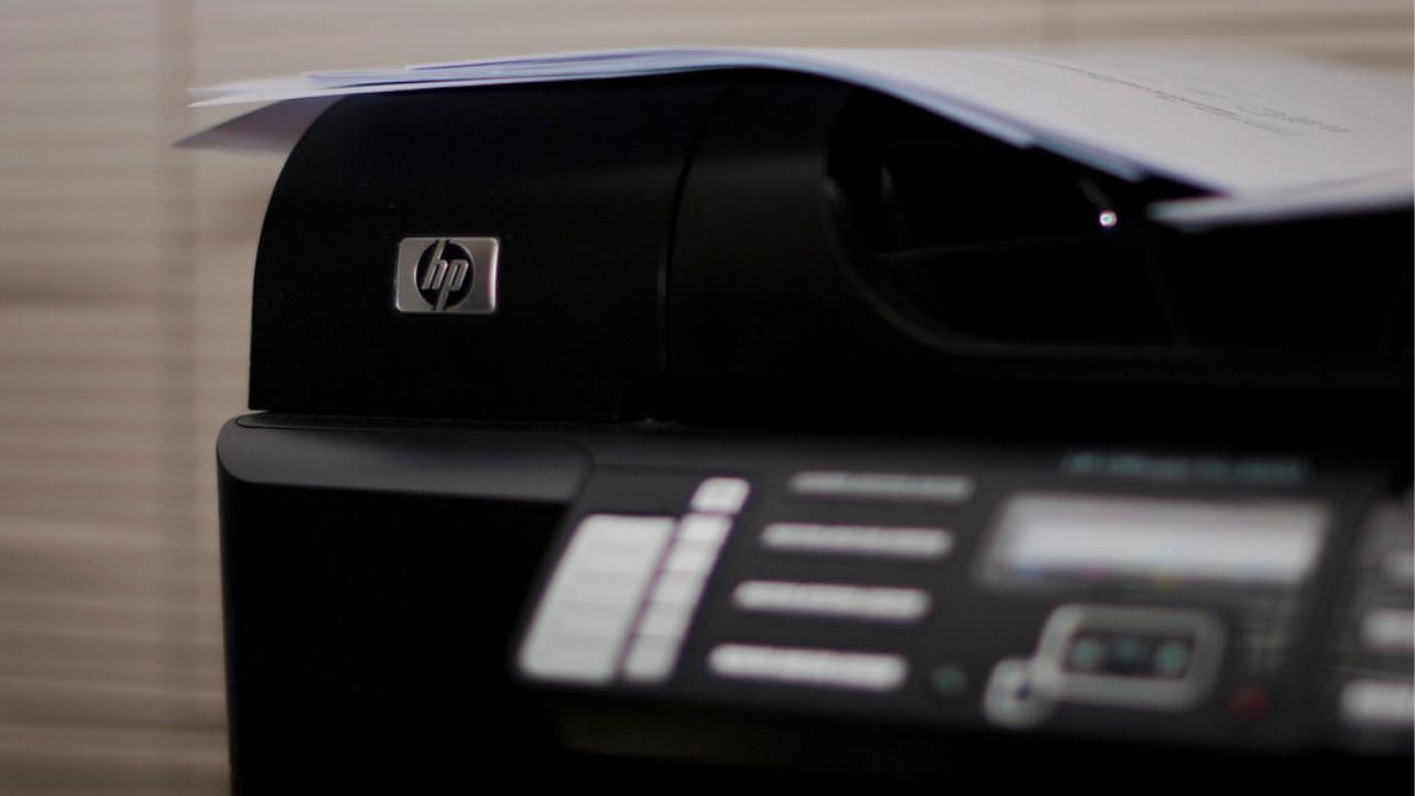 EasyFeedback cartucho de impresora de color gris y marca HP