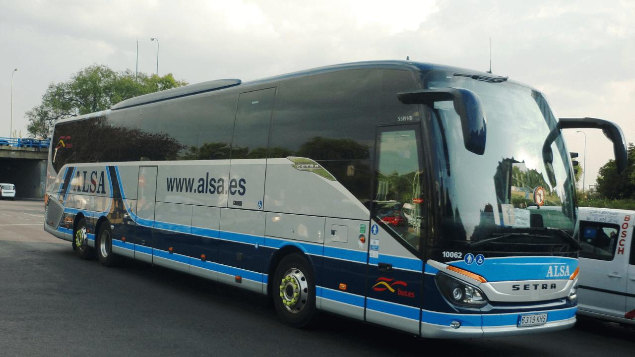 EasyFeedback Bus de la compañía Alsa