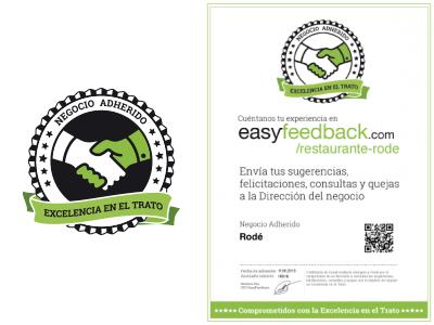 EasyFeedback Certificado